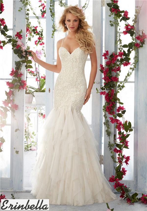 ウェディングドレス マーメイドライン マーメイド ロングドレス TW1550