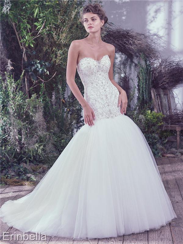 ウェディングドレス マーメイドライン マーメイド ロングドレス TW1628