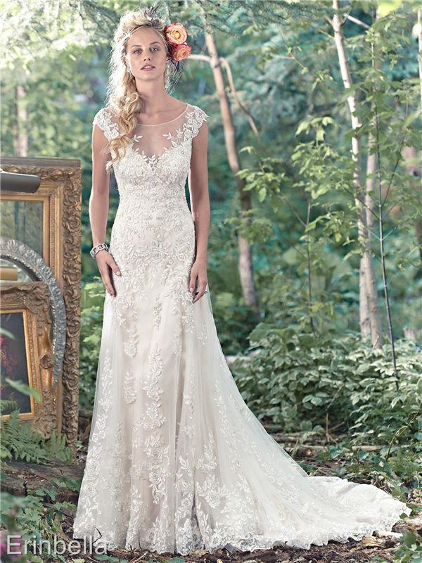 ウェディングドレス マーメイドライン マーメイド ロングドレス TW1642