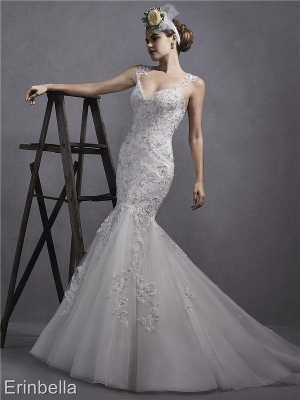 ウェディングドレス マーメイドライン マーメイド ロングドレス TW1749