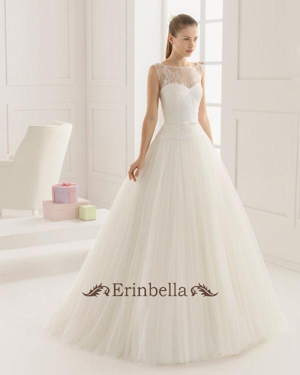 【サイズオーダー】ウェディングドレス プリンセスライン ふわふわスカート ふんわり 9A104