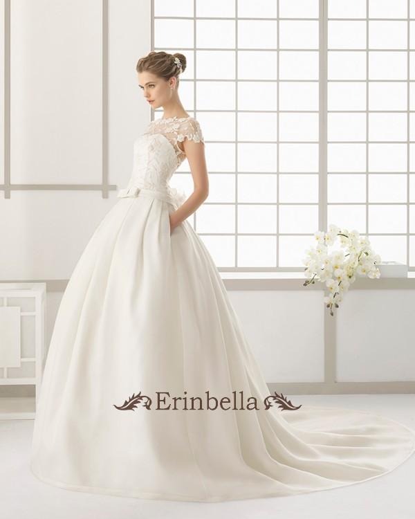 【サイズオーダー】ウェディングドレス プリンセスライン 花嫁 結婚式 二次会 披露宴 ブライダル 91107