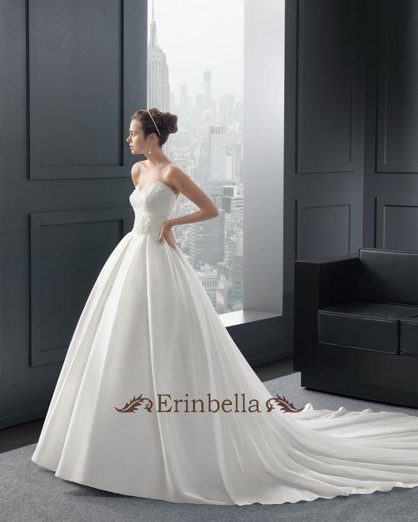 ウェディングドレス ウェディングドレス プリンセスライン ロングトレーン TW0851