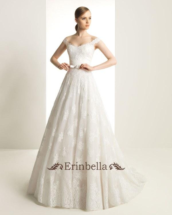 ウェディングドレス ウェディングドレス プリンセス オフショルダー TW0286