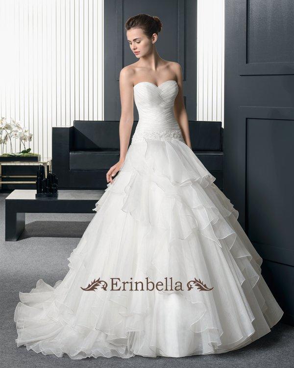 【サイズオーダー】ウェディングドレス プリンセスライン 花嫁 結婚式 二次会 披露宴 ブライダル TW0825