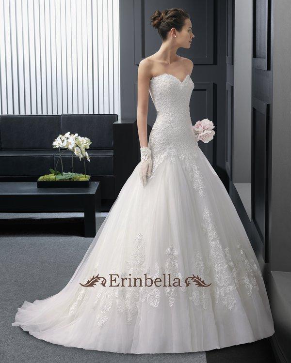 【サイズオーダー】ウェディングドレス プリンセスライン 花嫁 結婚式 二次会 披露宴 ブライダル TW0834