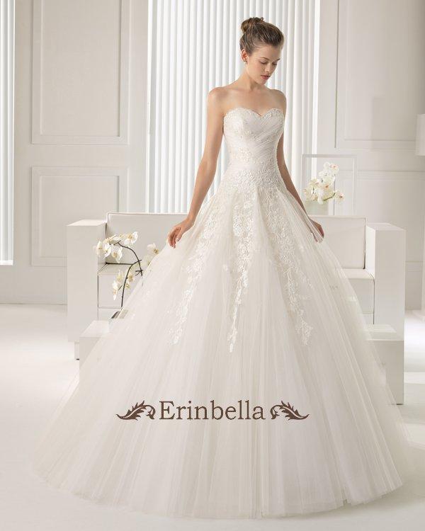 【サイズオーダー】ウェディングドレス プリンセスライン 花嫁 結婚式 二次会 披露宴 ブライダル TW0904