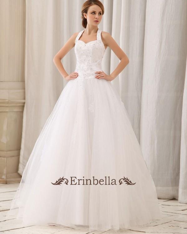 ウェディングドレス ウェディングドレス ホルターネック (TW0718)