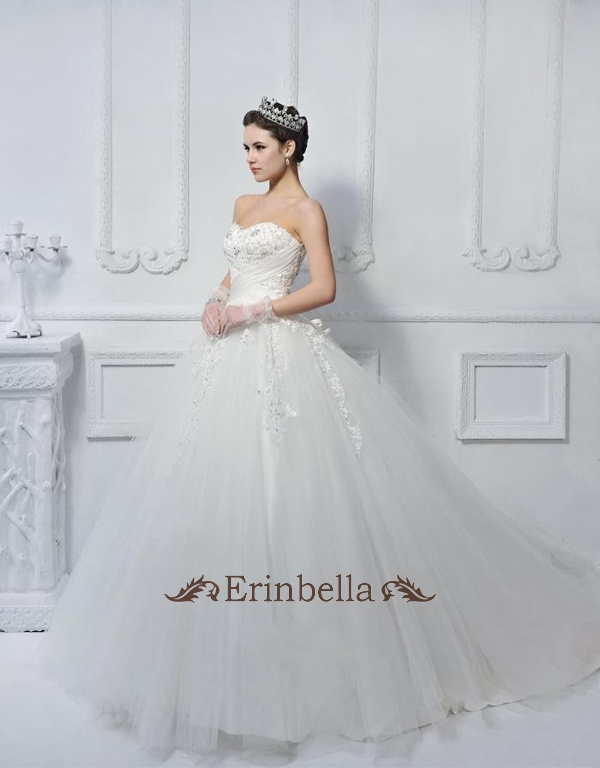 ウェディングドレス ウェディングドレス プリンセス ふわふわ (TW0417)
