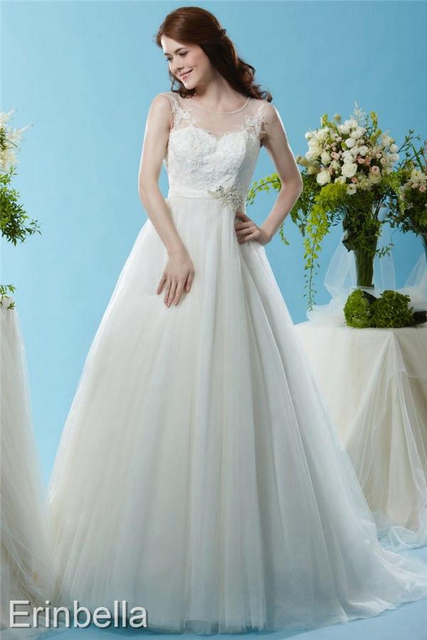 ウェディングドレス プリンセスライン プリンセス ロングドレス BL124