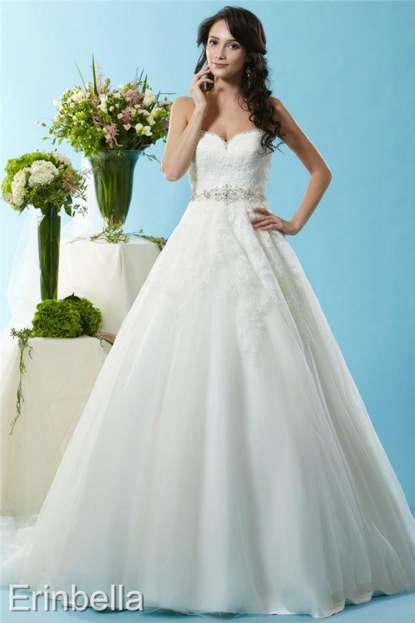 ウェディングドレス プリンセスライン プリンセス ロングドレス BL125