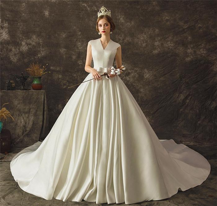 ウェディングドレス プリンセスライン プリンセス ロングドレス JHS2001