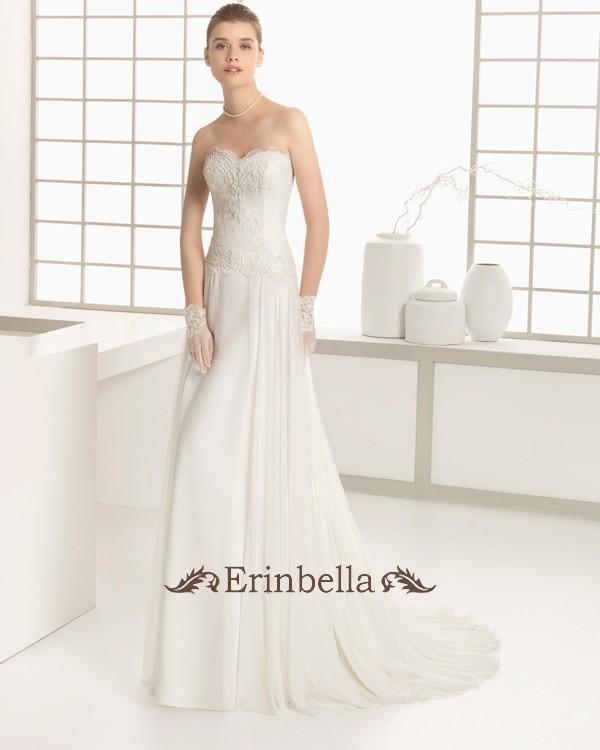 【送料無料】ウェディングドレス サイズオーダー スレンダーライン 花嫁 結婚式 二次会 披露宴 ブライダル 91131