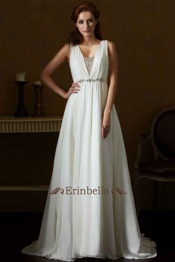 ウェディングドレス ウェディングドレス スレンダーライン SL059