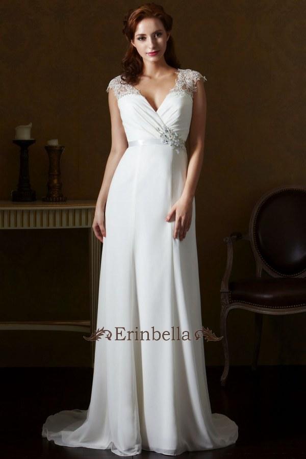 【送料無料】ウェディングドレス サイズオーダー スレンダーライン 花嫁 結婚式 二次会 披露宴 ブライダル SL063