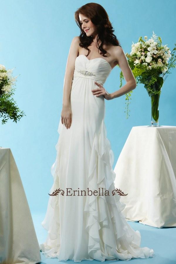 ウェディングドレス ウェディングドレス スレンダーライン マタニティ SL066