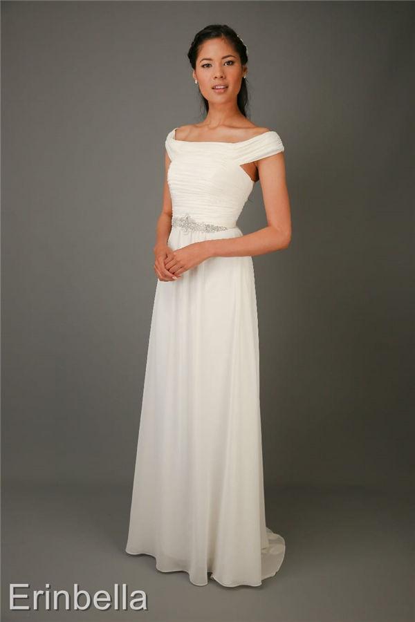 ウェディングドレス スレンダーライン スレンダー ロングドレス sl085