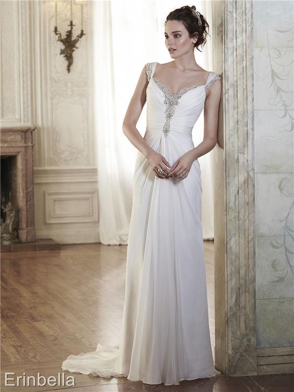 ウェディングドレス ウェディングドレス スレンダーライン TW1728