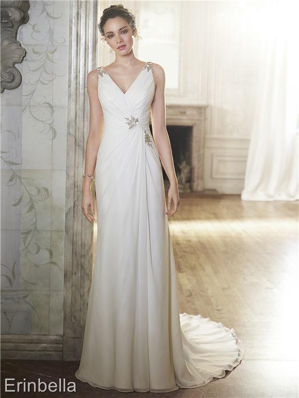 ウェディングドレス ウェディングドレス スレンダーライン TW1733