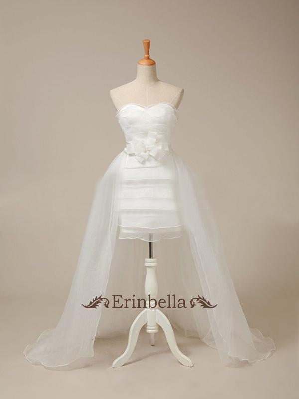 ウェディングドレス ウェディングドレス ミニ ショートドレス サイズオーダー (TW0414)