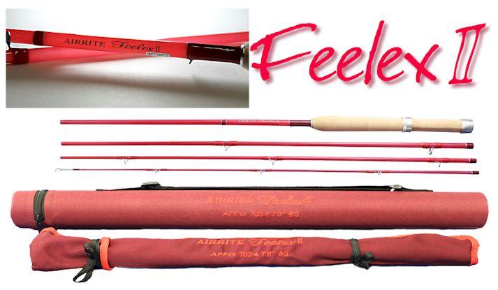 AIRRITE Feelex-2 4Pグラスロッド AFFG2 703-4 <アキスコ>