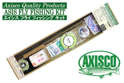 ASIS FLY FISHING KITフライフィッシングセット<アキスコ/AXISCO>