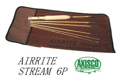 AIRRITE STREAM 6P ASFG764-6アルミケース付<アキスコ/AXISCO>