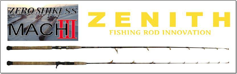 ゼロシキマッハ3(ベイトモデル)ZEROSHIKI MACH3ZSM62B-6<ゼニス/ZENITH>