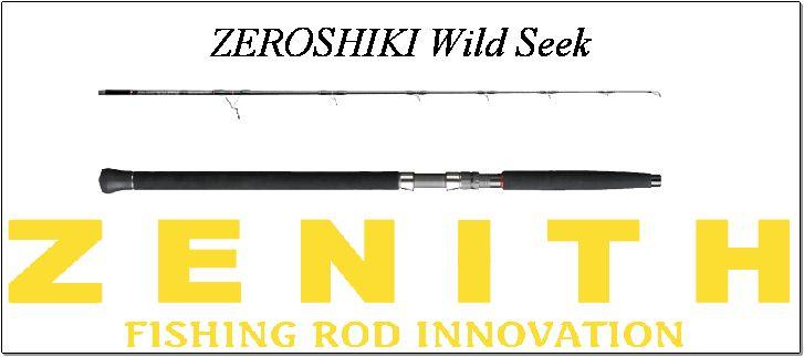 ゼロシキワイルドシーク(スピニングモデル)ZEROSHIKI Wild SeekZWS-82MH<ゼニス/ZENITH>