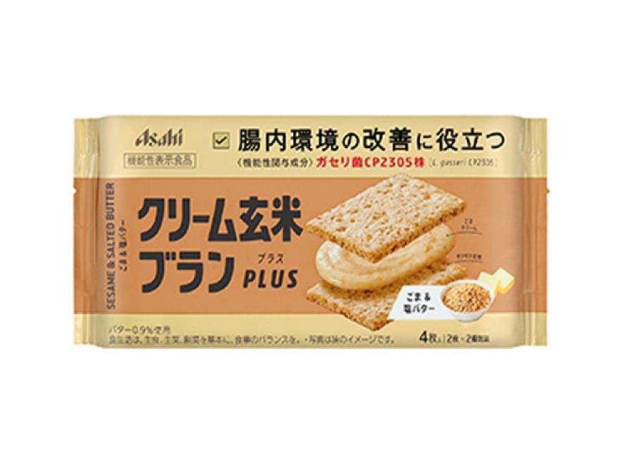 【ボール販売】 クリーム玄米ブランプラス ごま&塩バター 72gx6個