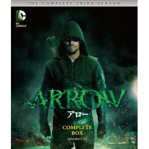 【送料無料】ARROW/アロー<サード・シーズン> コンプリート・ボックス 【Blu-ray】