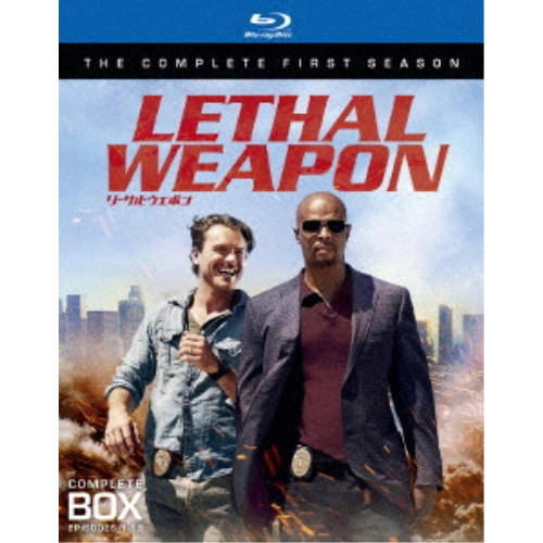 【送料無料】リーサル・ウェポン<ファースト・シーズン>ブルーレイ コンプリート・ボックス 【Blu-ray】