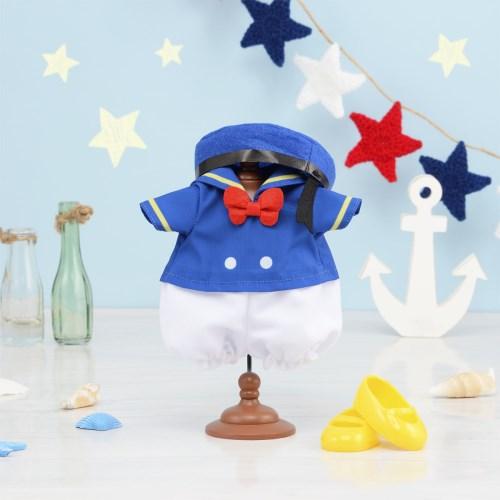 ずっとぎゅっとレミン&ソラン ドナルド せいふくセットおもちゃ こども 子供 女の子 人形遊び 洋服 3歳 ドナルドダック