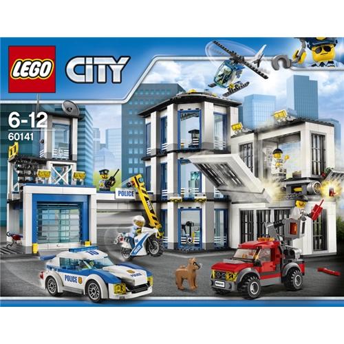 ラッピング対応可◆LEGO 60141 シティ ポリスステーション クリスマスプレゼント おもちゃ こども 子供 レゴ ブロック 6歳