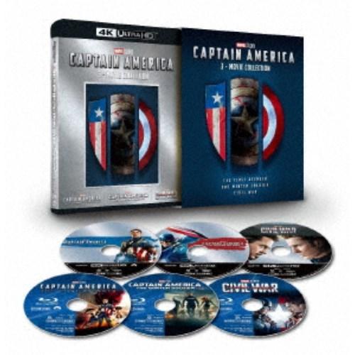 【送料無料】キャプテン・アメリカ:3ムービー・コレクション UltraHD (初回限定) 【Blu-ray】