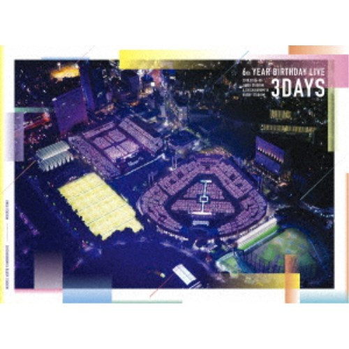 乃木坂46/乃木坂46 6th YEAR BIRTHDAY LIVE 2018.07.06-08 JINGU STADIUM & CHICHIBUNOMIYA RUGBY STADIUM《完全生産限定版》 (初回限定) 【DVD】