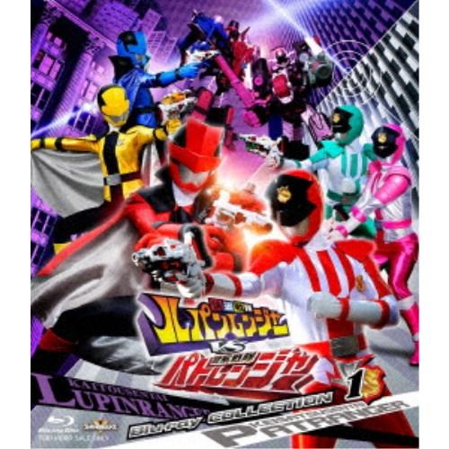 【送料無料】快盗戦隊ルパンレンジャーVS警察戦隊パトレンジャー Blu-ray COLLECTION 1 【Blu-ray】