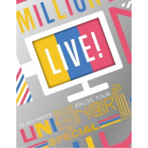 THE IDOLM@STER MILLION LIVE! 6thLIVE TOUR UNI-ON@IR!!!! LIVE Blu-ray SPECIAL COMPLETE THE@TER《完全生産限定版》 (初回限定) 【Blu-ray】