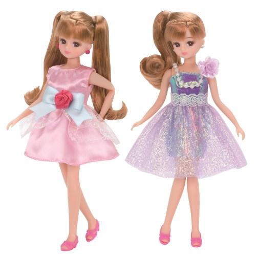リカちゃん LW-18 シャイニーパーティー おもちゃ 選択 こども 子供 人形遊び お見舞い 3歳 女の子 洋服