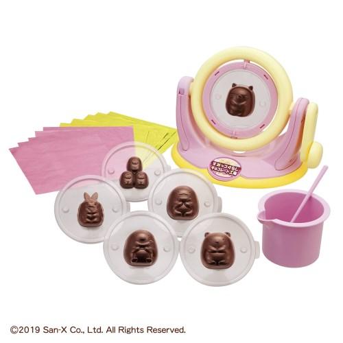 くるくるチョコレート工場 すみっコぐらし チョコレート工場 おもちゃ こども 子供 女の子 ままごと ごっこ 作る 8歳