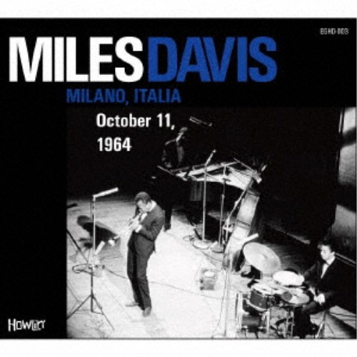 MILES DAVIS MILANO,ITALIA October 新作 1964 11, CD スーパーセール