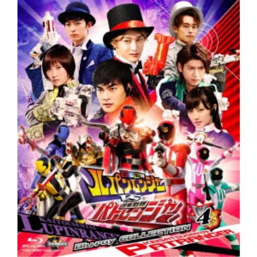 快盗戦隊ルパンレンジャーVS警察戦隊パトレンジャー Blu-ray COLLECTION 4 【Blu-ray】
