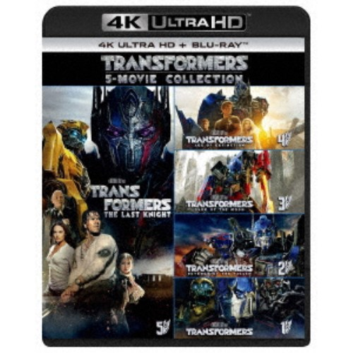 【送料無料】トランスフォーマー 5 ムービー・コレクション UltraHD 【Blu-ray】