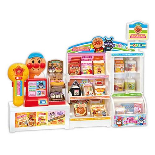 いらっしゃいませ アンパンマンコンビニおもちゃ こども 子供 激安 ままごと 情熱セール 3歳 女の子 ごっこ