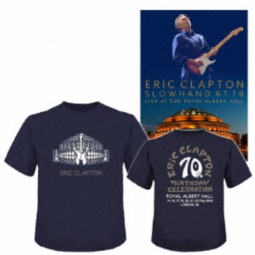エリック・クラプトン/スローハンド・アット・70 - エリック・クラプトン・ライヴ・アット・ザ・ロイヤル・アルバート・ホール《完全限定生産版》 (初回限定) 【DVD】