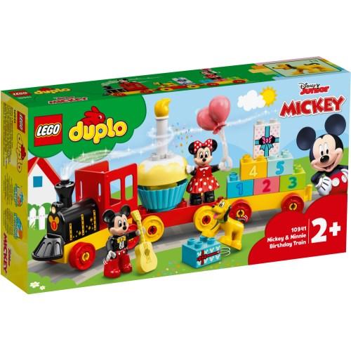 LEGO レゴ デュプロ ミッキーとミニーのバースデーパレード 10941おもちゃ こども 子供 レゴ ブロック ミッキーマウス