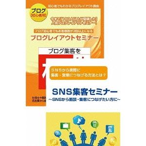 【送料無料】【初心者用】ブログとSNSを活用してリアルの集客に役立てるためのDVDセット 【DVD】