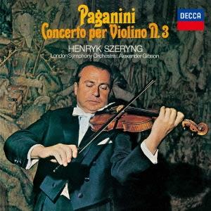 CD-OFFSALE ヘンリク シェリング パガニーニ:ヴァイオリン協奏曲第3番 CD 安い 激安 プチプラ 高品質 お得