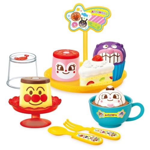 プチッとポン アンパンマンプリンとデザートセットおもちゃ 往復送料無料 迅速な対応で商品をお届け致します こども 子供 3歳 勉強 知育