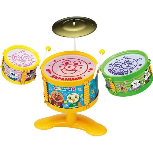 アンパンマン うちの子天才 おおきなドラムセットおもちゃ 正規品 こども 知育 子供 勉強 3歳 贈物